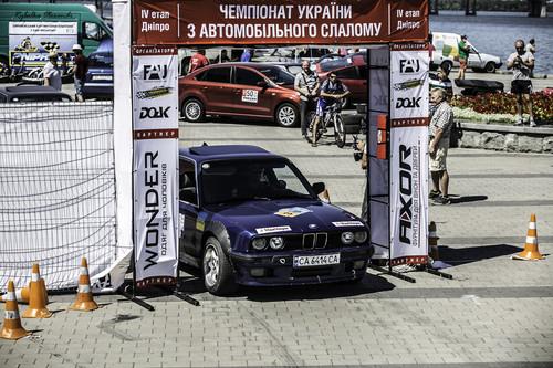 Найсильніші автоспортсмени змагалися на слаломі у Дніпрі