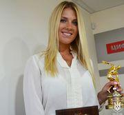 ФОТО ДНЯ: Ольга Харлан в 10-й раз признана лучшим спортсменом месяца