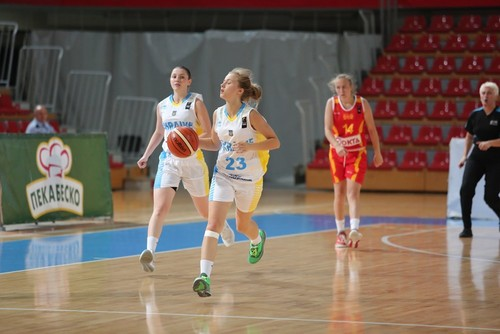 Жіноча збірна України U-16 здобула другу перемогу на Євробаскеті