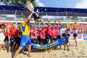Днепровский Выбор - трехкратный чемпион Украины по пляжному футболу!