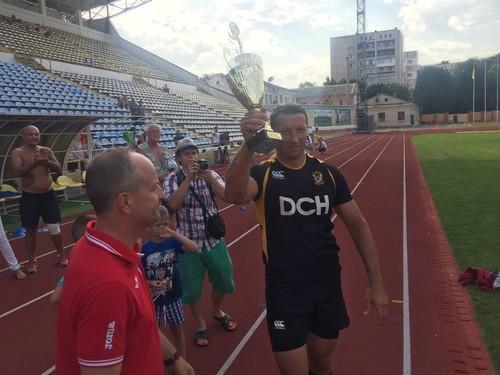 Олимп Александра Ярославского вновь стал обладателем кубка по регби-7