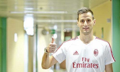 Милан арендовал Калинича с обязательством выкупа