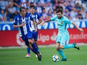 Барселона уверенно обыграла Алавес