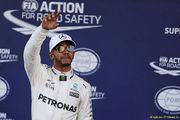 Хэмилтон выиграл квалификацию Гран-при Бельгии, Феттель — второй
