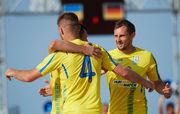 Пляжный футбол: Украина дожимает Германию в экстра-тайме