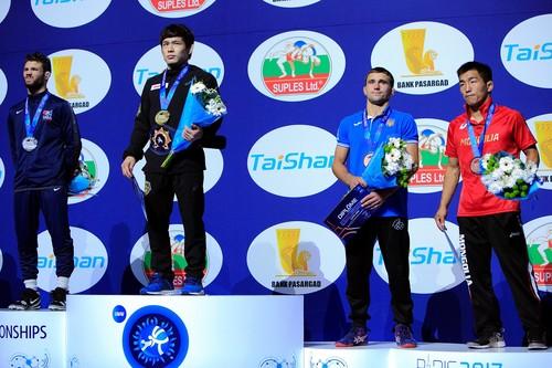 Андрій Яценко завоював бронзу чемпіонату світу з боротьби