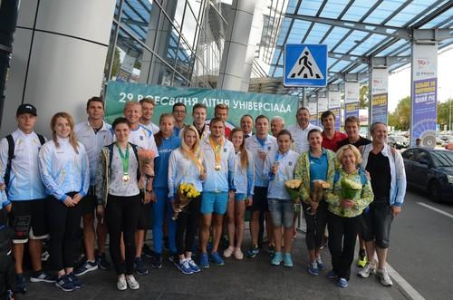 Сборная Украины заняла шестое место в медальном зачете Универсиады