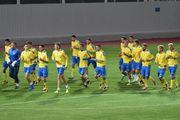Сборная Украины перенесла тренировку с Металлиста на стадион Гелиоса