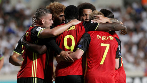 Группа C. Бельгия уничтожила Гибралтар