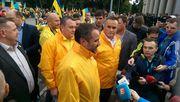 Вірні збірній прибыли в Харьков