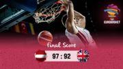 ЧЕ-2017. Латвия удержала преимущество в матче с Великобританией