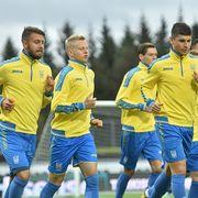 Украина сыграет в желтом, Исландия — в синем