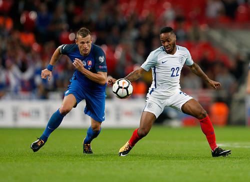 Группа F. Англия с минимальным преимуществом обыграла Словакию