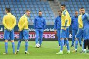 Исландия – Украина. Стартовые составы команд
