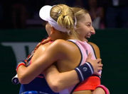 Россиянки Макарова и Веснина выиграли Итоговый турнир WTA
