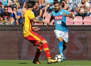 Наполи с разгромным счетом обыграл Беневенто, Удинезе уступил Милану