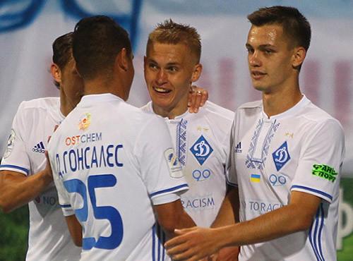 Динамо не без труда переиграло Олимпик в Киеве