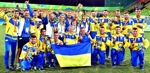 Паралимпийская сборная Украины – чемпион мира по футболу