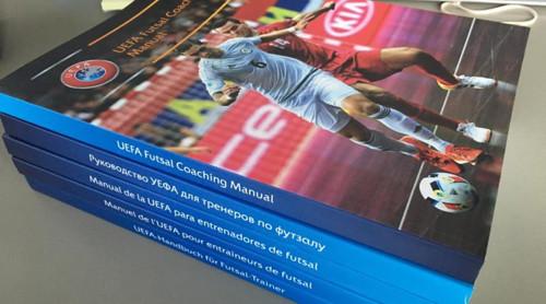 Вниманию тренеров по футзалу: Руководство УЕФА для тренеров по футзалу