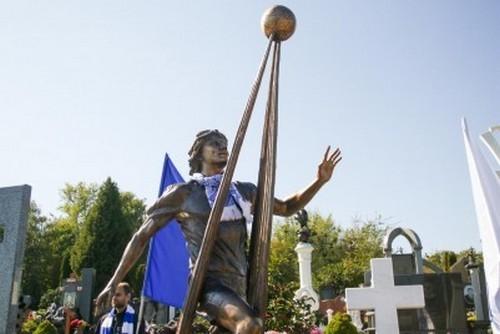 В Киеве открыли памятник Андрею Гусину