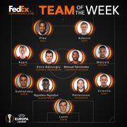 Лунин и Сухоцкий попали в команду недели по версии УЕФА