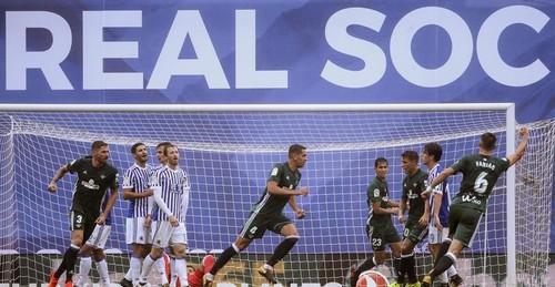 Реал Сосьедад и Бетис забили восемь голов на двоих