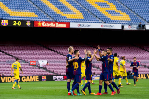 Барселона — Лас Пальмас — 3:0. Видеообзор матча