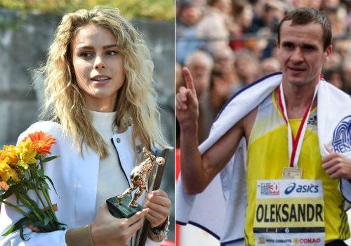 Юлія Левченко та Олександр Сітковський – найкращі легкоатлети вересня