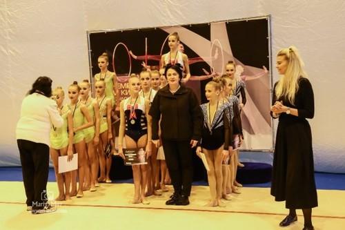 Итоги чемпионата Киева по художественной гимнастике
