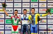 Роман Гладиш – бронзовий призер чемпіонату Європи з велотреку