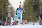 Юлия Джима стала третьей в спринтерской гонке в Шушене
