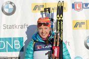 Юлия Джима победила в масс-старте в Шушене