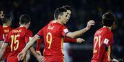Адурис стал самым возрастным автором гола в составе сборной Испании