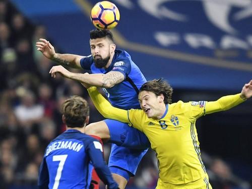 Франция — Швеция - 2:1. Видеообзор матча
