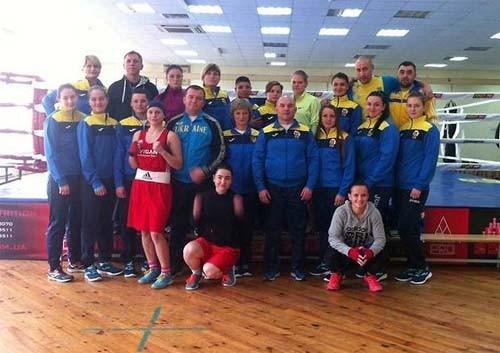 Сборная Украины стартует на чемпионате Европы по боксу