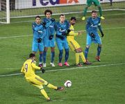 Группа D. Зенит одержал пятую победу в ЛЕ