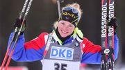Дорен-Абер добывает победу в спринте, украинки далеко от подиума