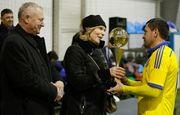 Сборная ветеранов Украины добыла победу в Турнире памяти Андрея Гусина