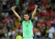 Роналду оформил дубль к 4-й минуте матча против Андорры