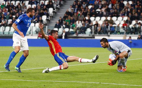 Италия — Испания - 1:1. Видеообзор матча