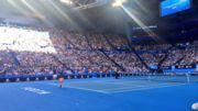 Открытую тренировку Федерера посетили шесть тысяч зрителей