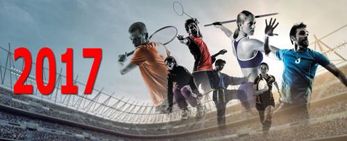 Спортивный календарь на 2017 год