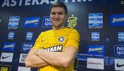 Евгений Селин дебютировал в составе Астераса