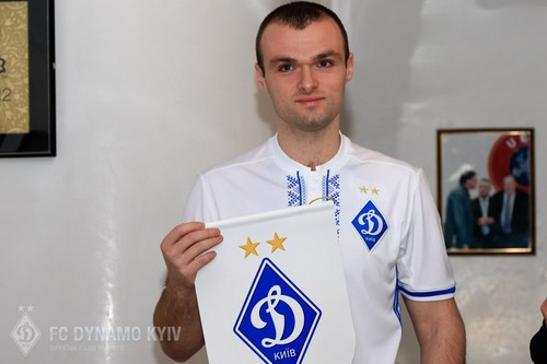 Эксклюзивное интервью с новым игроком Динамо Киев