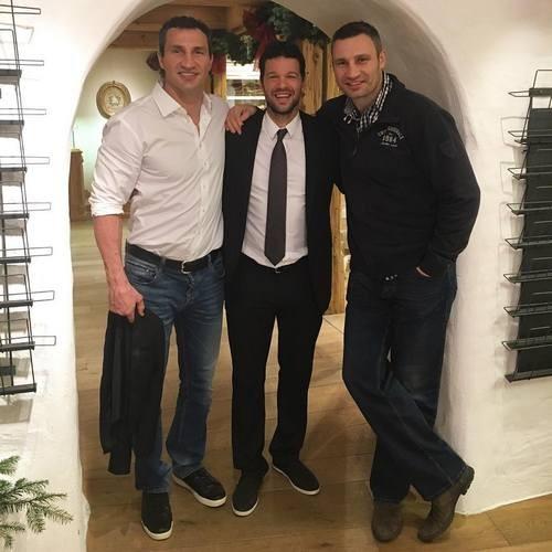 Братья Кличко стали телохранителями Михаэля Баллака