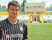 Украинец Максим Белый на просмотре в Анжи