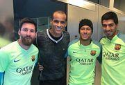 Ривалдо сыграл с фанами Барселоны, замаскировавшись до неузнаваемости