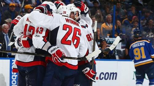 НХЛ. Вашингтон снова забил 7 голов, Нэшвилл поднялся в зону плей-офф