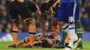 Игрок Халл Сити получил перелом черепа и кровоизлияние в мозг