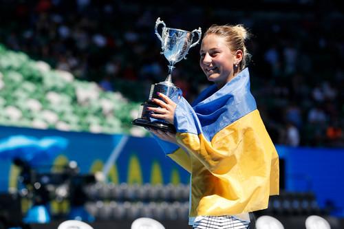 Марта Костюк – чемпионка юниорского Australian Open!